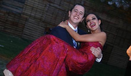 Santiago y Yolanda Aguillón.