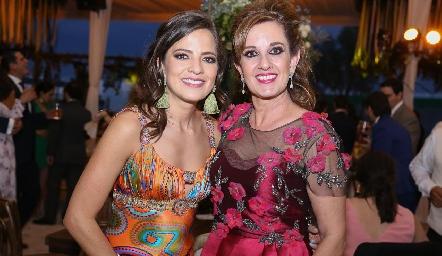 Andrea Hernández y Yolanda Payán.