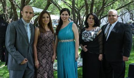 Familia Aldrete Mora.
