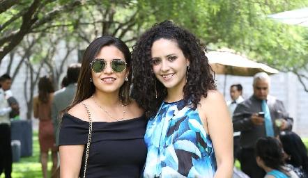 Valeria Rodríguez y Paulina Silos.
