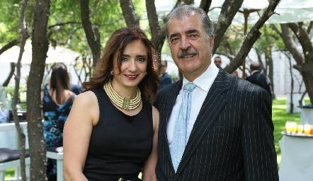Martha Abud y Marco Güemes.