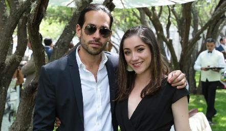 Eduardo Salazar y Natalia Rosado.