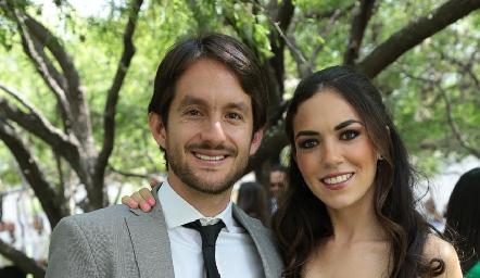 Pablo Sánchez y Montse Berrueta.