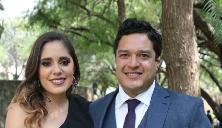 Sofía Ascanio y Raymundo Blanco.