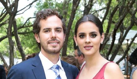 Andrés Castañón y Mariana Marín.