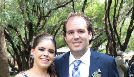 Jessica Ferretiz y Fernando Castañón.