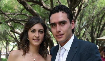 Paty Gómez y Xavier Azcárate.