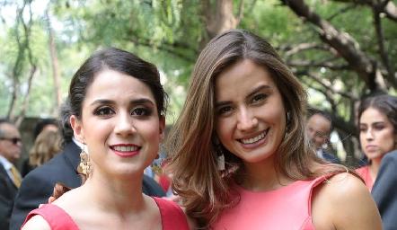 Erika Río y Brenda Magaña.