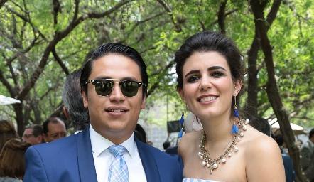 Carlos Díaz de León y Sofía Cavazos.