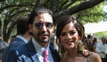 Mauricio Zollino y Andrea Hernández.