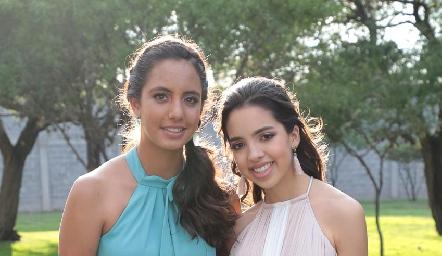 María Paula Silva y Ximena Hernández.