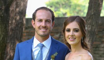 Octavio y Pily ya son esposos.