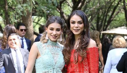 Claudia y Paulina Rodríguez.