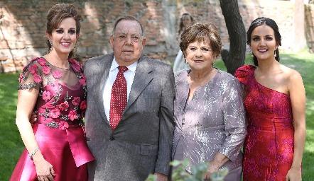 Yolanda, Jacobo, Yolanda Payán y Yolanda Aguillón Payán.