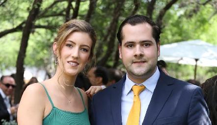 Clarissa Abella y Andrés Mina.
