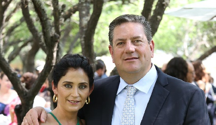Verónica Conde y Jacobo Payán.