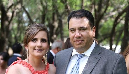 Marcela Payán y Roberto Silva.
