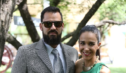 Nacho Órnelas y Ana Sofía Castañón.