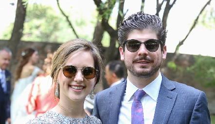 Gilda Fonseca y Ernesto Almada.