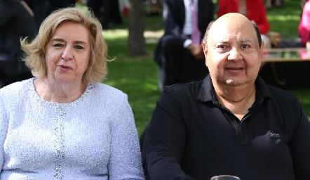 Martha y Juan Payán.
