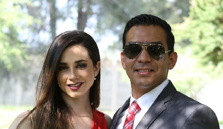 Gabriela Mora y Esteban Arteaga.