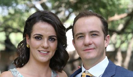 Anna Lorca y Carlos Velázquez.