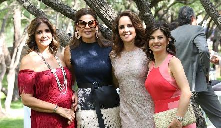 Beatriz Álvarez, Martha Díez Gutiérrez, Gabriela Payán y Lucía Escobedo.