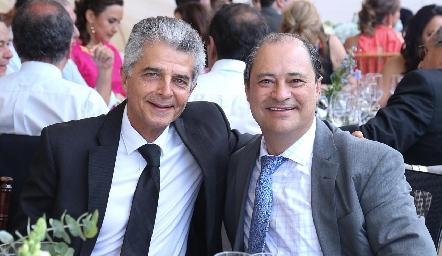 Raúl Bustos y Héctor Valle.