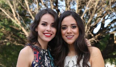Sara Leiva y Armida Enríquez.
