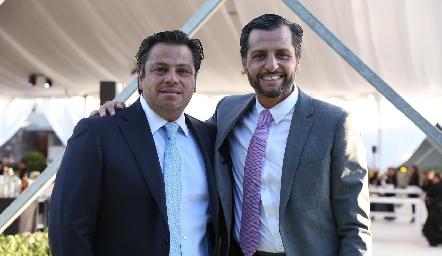 Fernando y Carlos de los Santos.