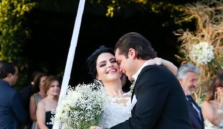 Daniela y Santiago un amor para toda la vida.