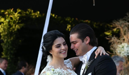 Daniela de los Santos Pizzuto y Santiago Rosillo del Pozo.