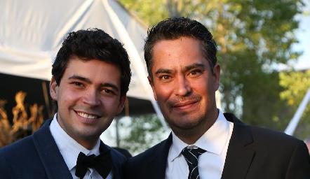 Ernesto Navarro y Sebastián Rosillo.