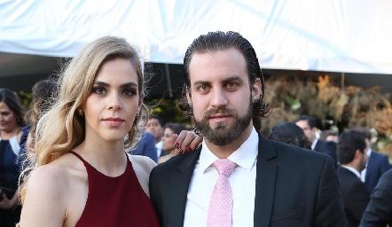 Claudia Mahbub y Gerardo Eggeleton.