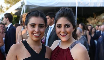 Sofía Faz y Katia Díaz de León.