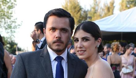 Cristóbal Safont y Melissa Fernández.