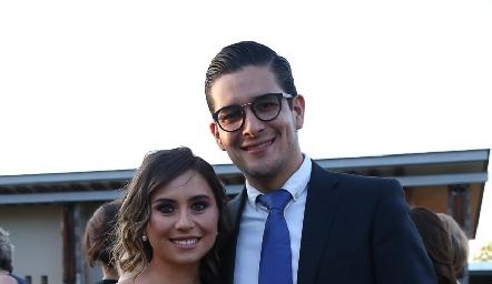 Margot Uría y Héctor Álvarez.