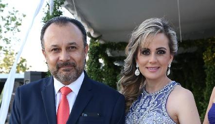 Fernando Díaz de León y Patricia Anette de Díaz de León.