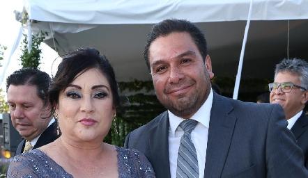 Lorena Jiménez y Roberto Rodríguez.