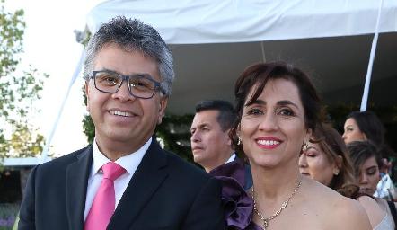 Jorge Candia y Silvia Martínez.