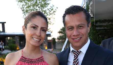 Ana Orozco y Rafael Rocha.
