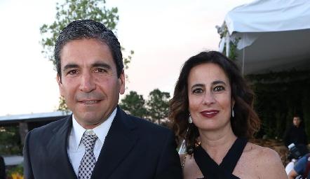Martín de la Rosa y Ana Paula Gutiérrez.