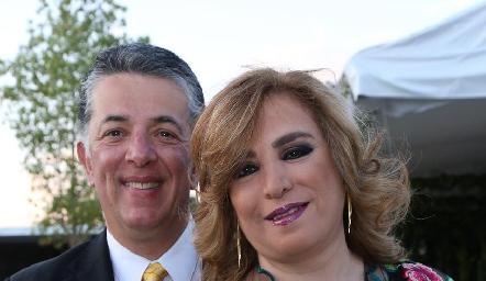 Alejandro y Mago Anaya.