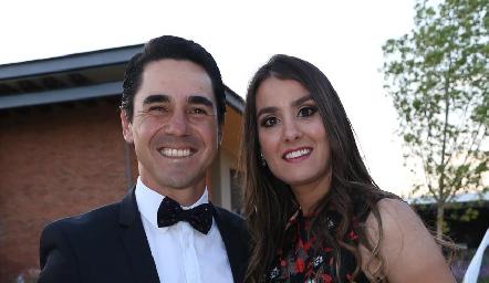 Andrés y Teresa Posada.