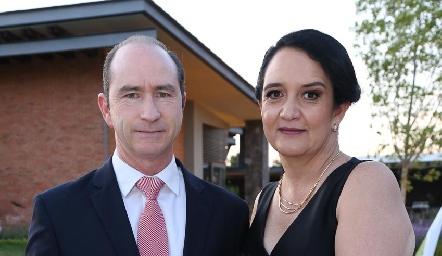 Rodak Palau y Ceci Hernández.