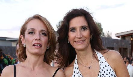 Verónica Dávalos y María Dolores Hernández.