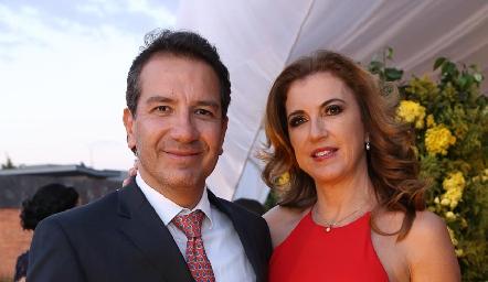 Mauricio Villalobos y Guille Hernández.