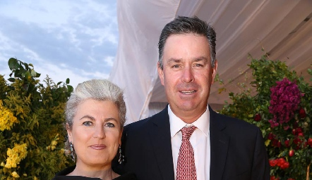 María José y Jorge Mendizábal.