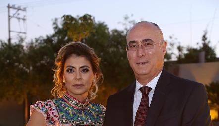 Claudia Anaya y Jaime Oliva.