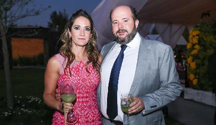 Jimena Ibarra y Gabriel de la Maza.